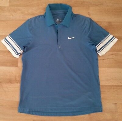 Nike Dri-Fit Polo Shirt Roger Federer 2010 French Open Mens M