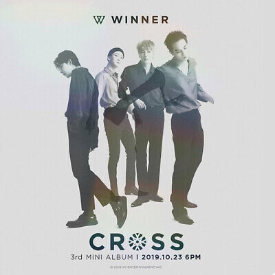 WINNER CROSS 3rd Mini Album CD+POSTER+PhotoBook+Card+Polaroid+etc+Pre-Order+GIFT