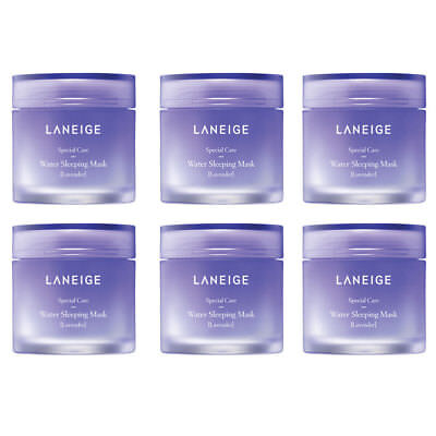 LANEIGE Water Sleeping Mask Lavender 15ml x 1pcs or 3pcs (45ml) or 6pcs (90ml)