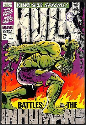 Incredible Hulk King Size Special #1 FN+