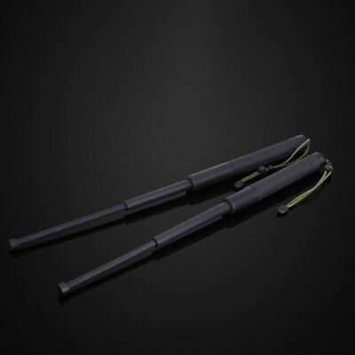 Portable Telescopic Stick Self-Defense Tool Training Equipment Camping
