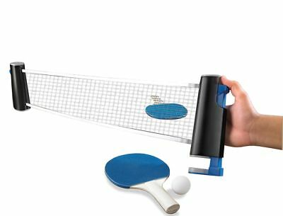 Retractable Table Tennis Net Portable Replacement Ping Pong Set Sports Fun New