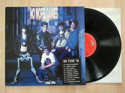 New Kids On The Block NKOTB No More Games TOUR 1991 Album OIS LP Vinyl, 132
