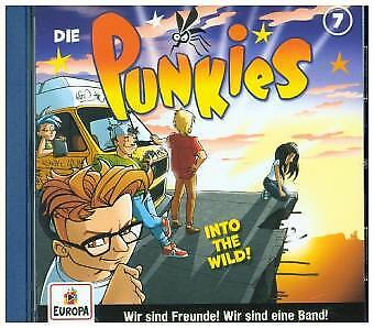 Die Punkies - 007/Into the Wild! CD Europa NEW