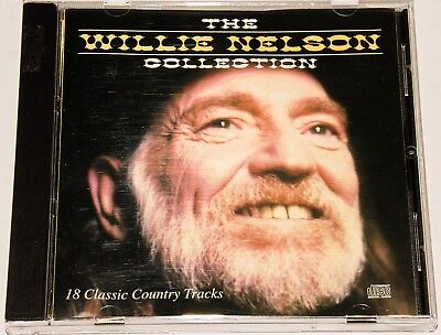 Willie Nelson - The Collection: 18 Classic Country Tracks (CD, K-Tel 1987)