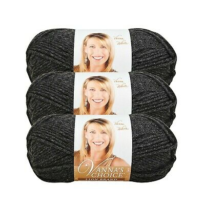 Lion Brand 860-145 Vanna/'s Choice Yarn-Eggplant 3Pk