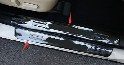 Stainless Welcome Pedal Door Sill Scuff Panel For Toyota highlander 2015-2018