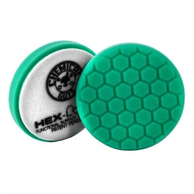 Chemical Guys HEX-LOGIC HEAVY POLISHING PAD GREEN 4″