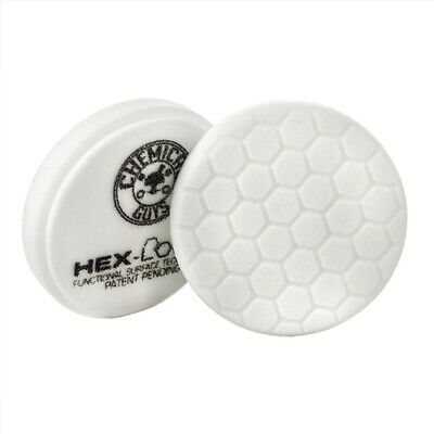 Chemical Guys HEX-LOGIC LIGHT-MEDIUM POLISHING PAD WHITE 4″