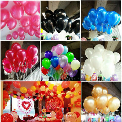 20 50 100Pcs Colorful Latex Balloon Celebrate Party Wedding Birthday Decoration