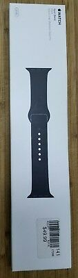 Apple Watch Sport Band 38 MM (Black/Space Grey Stainless Steel Pin) NEW SEALED