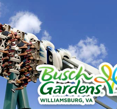 Busch Gardens Williamsburg Tickets Savings  A Promo Discount Tool