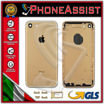 TELAIO SCOCCA POSTERIORE iPhone 7 BACK COVER MIDDLE Oro Gold