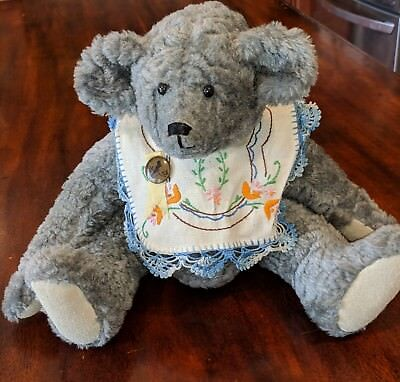 Vintage Handmade Teddy Bear 1964 GenaBear Fully Jointed Tag with Bears Story