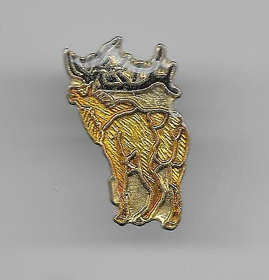 Vintage Elk from the rear b2 old enamel pin
