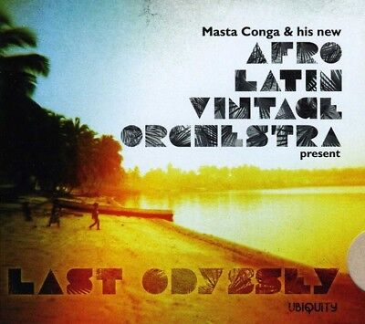 Last Odyssey - Afro Latin Vintage Orchestra (2012, CD NUOVO)