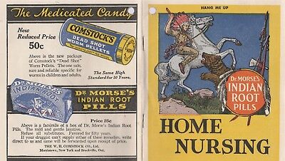 Dr. Morse's Indian Root Pills Home Nursing Guide-1920'S?