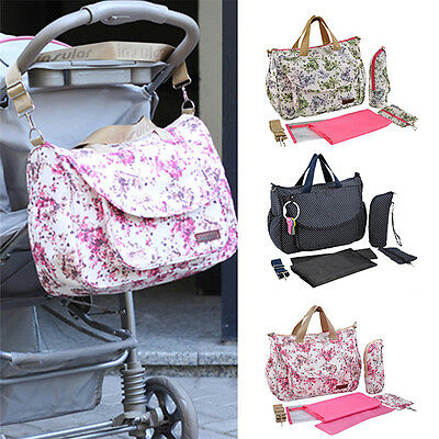 Fashion Mummy Maternity Nappy Diaper Bag Large Capacity Baby Bag Travel Backpack