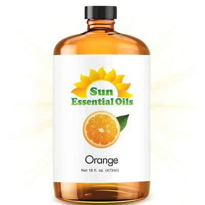 Best Sweet Orange Essential Oil 100% Purely Natural Therapeutic Grade 16oz