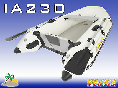 INFLATABLE BOAT 2.3M ISLAND AIR-FLOOR Tender Dinghy. 3 Year AUSTRALIAN Warranty