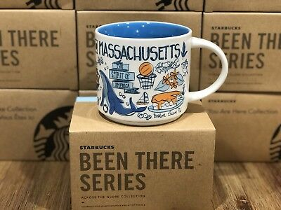 Starbucks BEEN THERE Series BTS - Massachusetts Boston Cape Cod 14oz Mug NIB