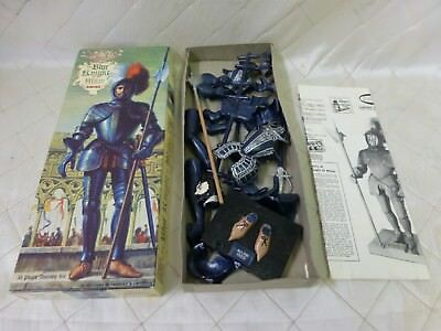 Aurora Blue Knight of Milan Model Kit Armor Figure Soldier England