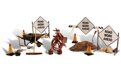 Woodland Scenics - Scenic Accents® Figures -- Road Crew Detail - O  - A2762