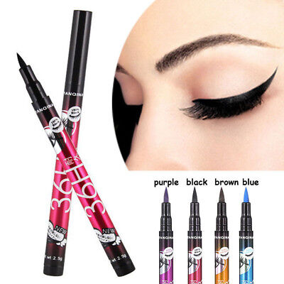 36H Beauty Black Waterproof Eyeliner Liquid Eye Liner Pen Pencil Makeup Cosmetic