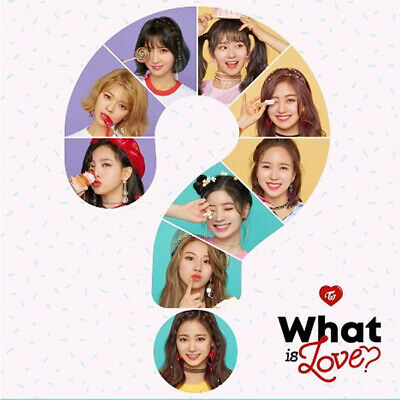 TWICE [WHAT IS LOVE?] 5th Mini Album CD+POSTER+Book+Card+Sticker+Pre-Order+GIFT