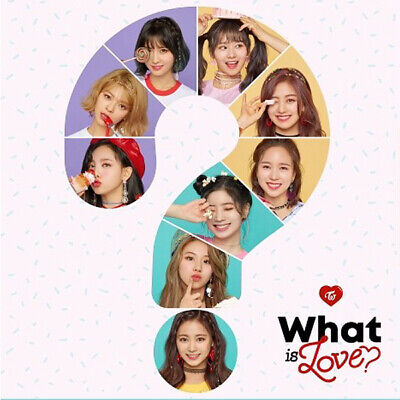 TWICE WHAT IS LOVE? 5th Mini Album CD+POSTER+P.Book+Card+Sticker+PreOrder SEALED