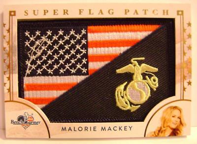 Malorie Mackey Super Flag Patch America The Beautiful Bench Warmer 2017