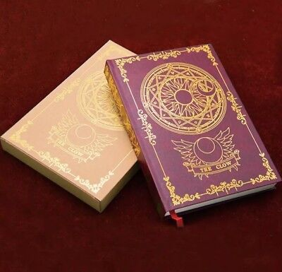 Card Captor Sakura The Clow Magic Book Diary Travel Journal Cosplay Note Book
