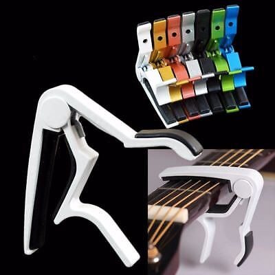 2018 Quick Change Release Folk Acoustic Electric Guitar Capo Trigger Key Clamp