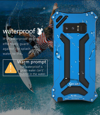 Shockproof Waterproof Metal Phone Case Cover For Samsung Galaxy S9 Plus Note8 S8
