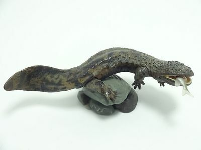 Kaiyodo Natural Monuments of Japan Japanese giant salamander mini figure model