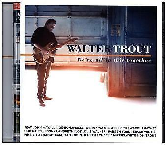 Walter Trout - Were All In This Together CD MASCOT LAB NEW