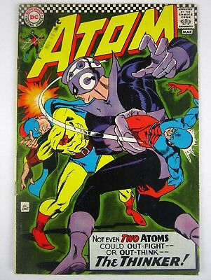 DC Comics The Atom #29 VG/F Key Issue Golden Age Atom X-Over 1st App The Thinker