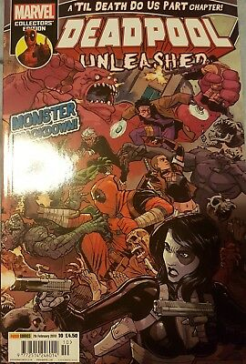 DEADPOOL UNLEASHED ISSUE 10 7th Febuary 2018