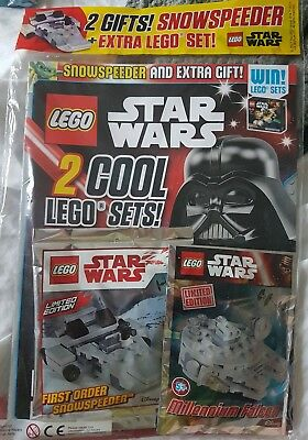 LEGO Star wars issue 11 oct - 7 Nov 2017 with limited edition gifts