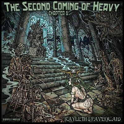 Kayleth and Favequaid - Second Coming Of Heavy Vinyl LP Ripple Mus NEU