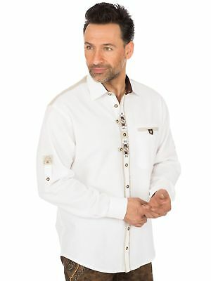 Os-Trachten Traditional Shirt 320035-3003 White