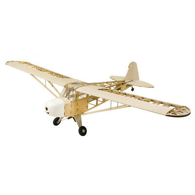 Balsa Wood Airplane Model J3 1800mm Wingspan  RC Building Toys Woodiness model
