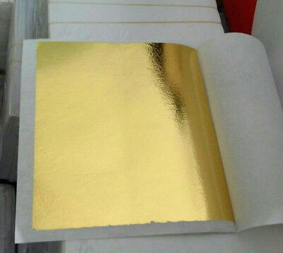 500 Sheets (5 x 5 cm) 24K 100% Pure Gold-leaf for facial mask spa ANTI-Wrinkle