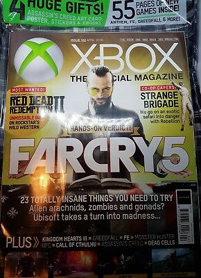 Xbox the official magazine Farcry 5 edition issue 162 with gifts