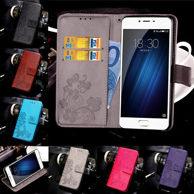 For Meizu M3S M3 M5 Note Fashion Magnetic Pattern Leather Flip Wallet Case Cover