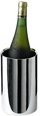 Genware NEV-003P Polished Wine Cooler, Stainless Steel, 12 ø x 20 cm