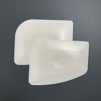 White Chizzler ***TWIN PACK*** - Hard Card Car Window Film Tinting Fitting Tool