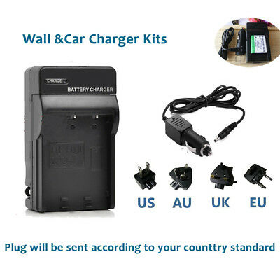 Battery  Charger for Fujifilm fuji NP-45 NP-45A NP-45W NP-45S Finepix Camera