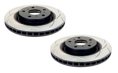 DBA T2 Slotted Brake Rotor Pair DBA2656S-10 fits Subaru BRZ Coupe ZC6