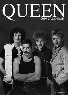 Queen Calendar 2019 Large A3 Wall Poster Size New Sealed By Oc Calendars